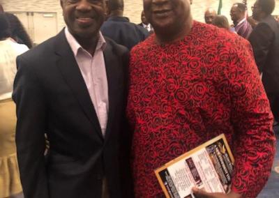 Nigeria former Senate President Anyim Pius Anyim